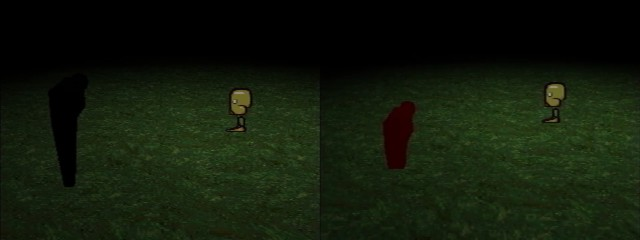 Tool's Camera before and after Marvin's cutscene